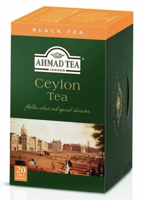 Čaj AHMAD Ceylon Tea 20x2g