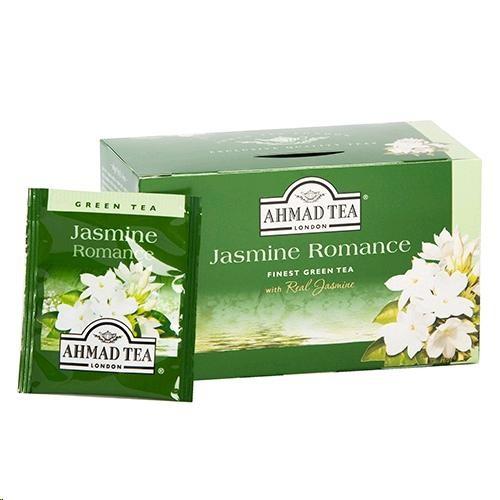Čaj AHMAD Green Tea Jasmine Romance 20x2g