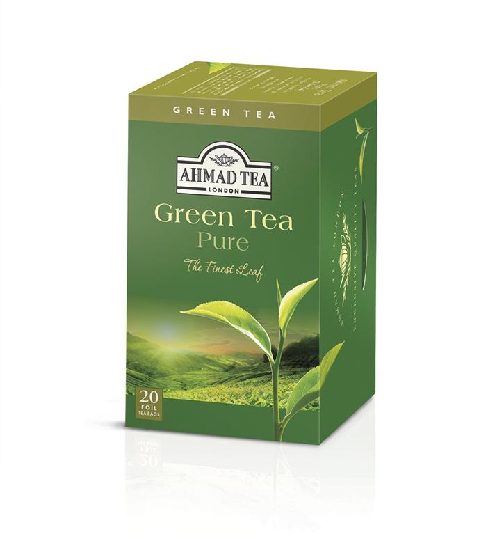 Čaj AHMAD Green Tea Pure 20x2g