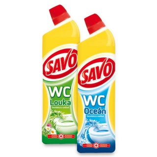 Savo WC 750ml čistič