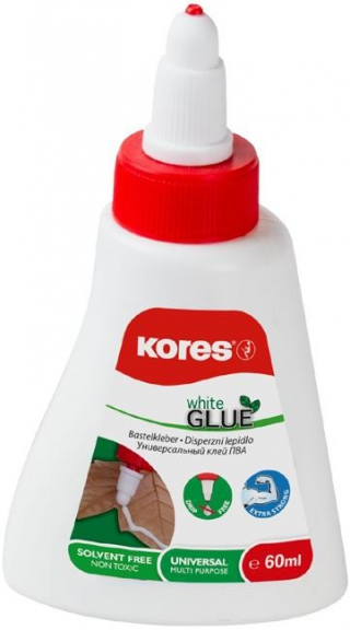 Lepidlo Kores White Glue 60ml