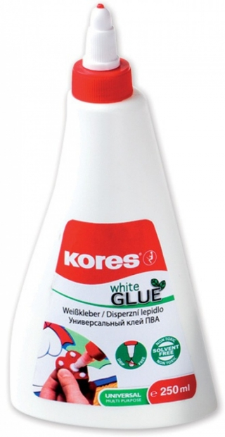 Lepidlo Kores White Glue 125ml