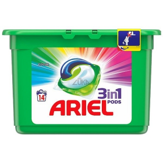 Ariel kapsle 14 ks Color