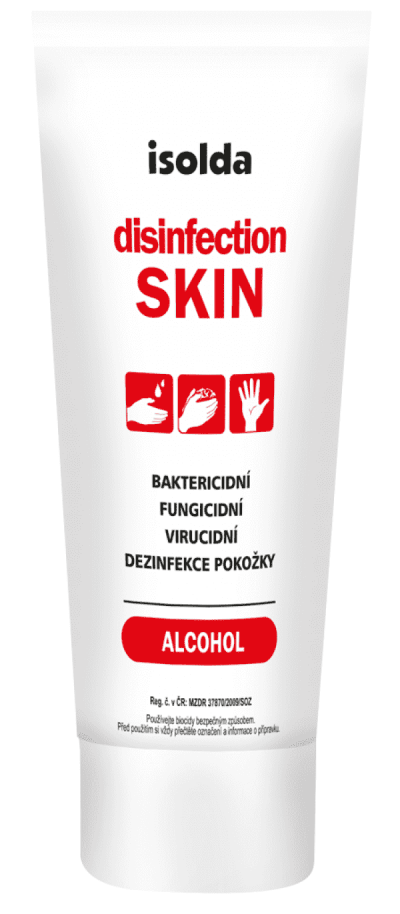 Isolda dezinfekční gel 65ml Disinfection Skin