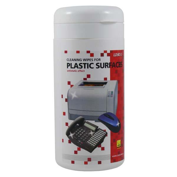 Čistící ubrousky na plasty /100ks
