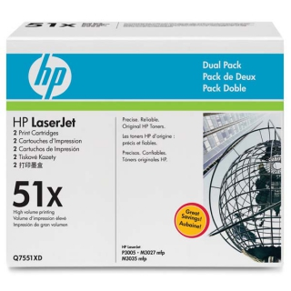 HP Q7551XD dual pack